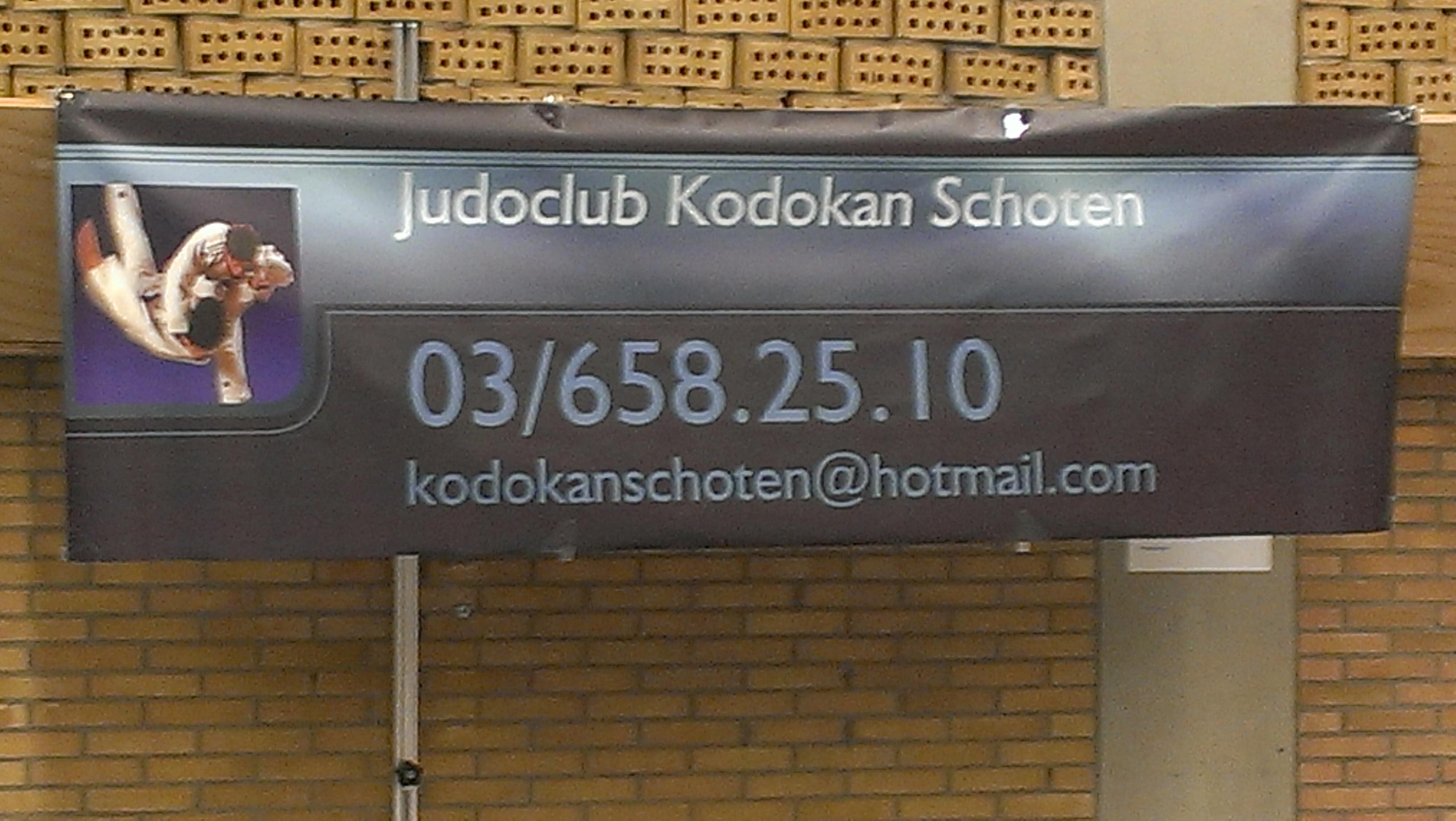 Organiserende club: Kodokan Schoten