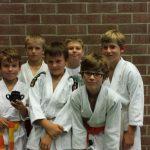 U11: Daan, Matthias, Ward, Milan,Ard en Sander