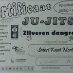 VJJF Certificaat 2015-2016 : ZILVEREN dangraad