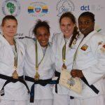 Roxane Taeymans behaalde zondag BRONS op de African Open