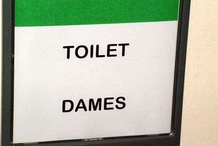 41 wc dames