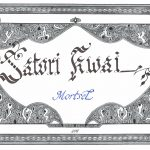 Satori Kwai Mortsel calligrafie